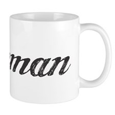 Lineman text script Mug