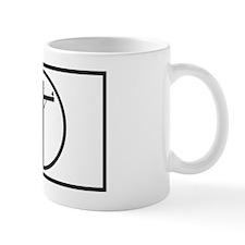 lineman 3x5 sticker Mug