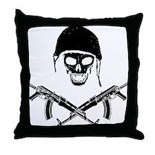 skullforshirt2black.gif Throw Pillow