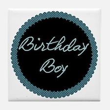 birthdayboy Tile Coaster