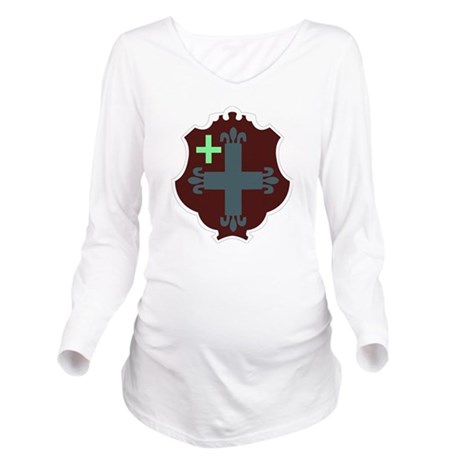 DUI-302ND BDE SUPPOR Long Sleeve Maternity T-Shirt