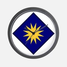 40th Infantry Division Wall Clock