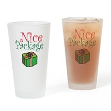 Nice Package Christmas Drinking Glass