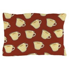 Eggnog Pattern Pillow Case