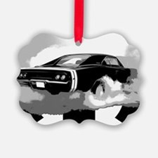 charger white shirt2 Ornament