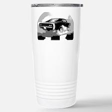charger white shirt2 Stainless Steel Travel Mug
