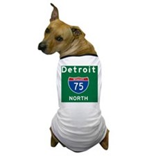 Detroit 75 Rec Mag Dog T-Shirt