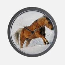 Palomino Power Wall Clock