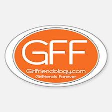 GFF Sticker Sticker (Oval)