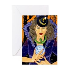 Esme the Fortune Teller Greeting Card