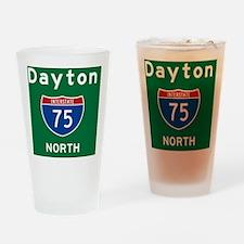 Dayton 75 Rec Mag Drinking Glass