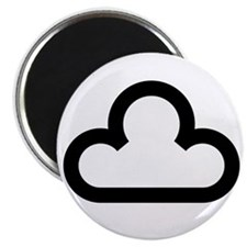 black-cloud-shape1 Magnet