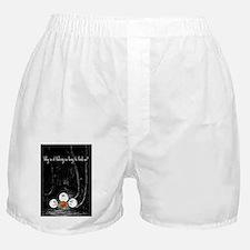 HB Golfer card Boxer Shorts