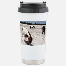 Assateague ponies Stainless Steel Travel Mug