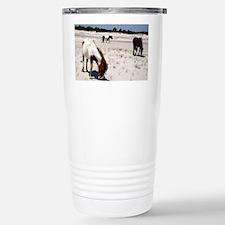 Assateague ponies Travel Mug