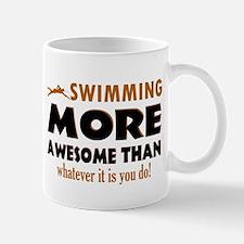 Swimming is awesome designs Mug