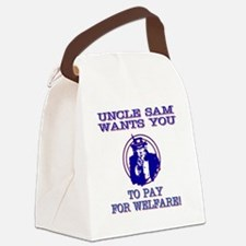 You pay for welfare Canvas Lunch Bag