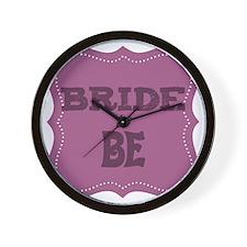 bridetobe Wall Clock
