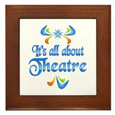 About Theatre Framed Tile