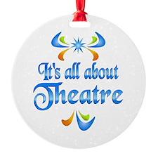 About Theatre Ornament
