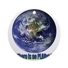 Planet B.gif Round Ornament