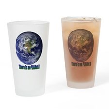 Planet B.gif Drinking Glass