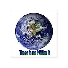 "Planet B.gif Square Sticker 3"" x 3"""