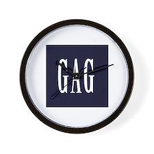 GAG (Gap Parody) Wall Clock