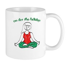 Om for the Holidays Mug