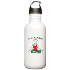Om for the Holidays Water Bottle