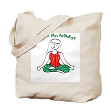 Om for the Holidays Tote Bag