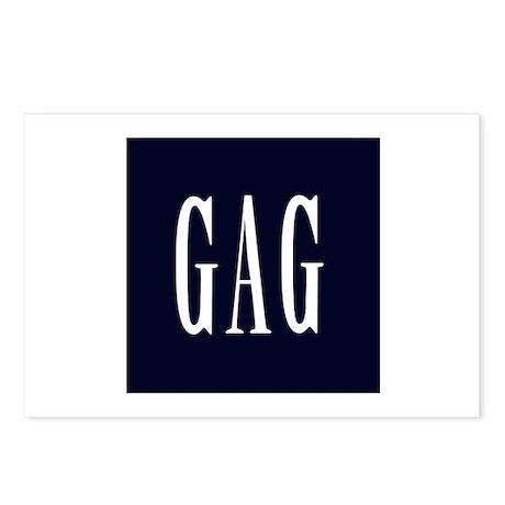 GAG (Gap Parody) Postcards (8)