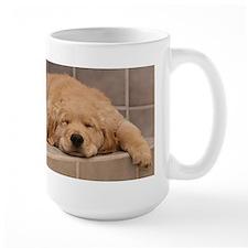 Mug- Golden Retriever Puppy: Need Coffee
