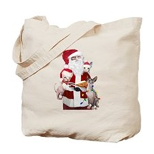 Sphynx Santas List Tote Bag