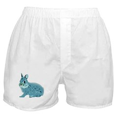 Hand Sketched Rabbit Boxer Shorts