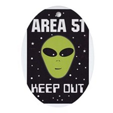 area51 Oval Ornament