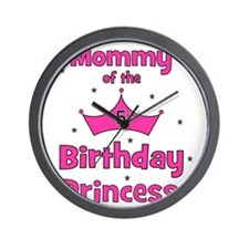 ofthebirthdayprincess_5th_mommy Wall Clock