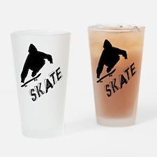 Skate_Ollie_Sillhouette Drinking Glass