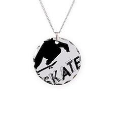 Skate_Ollie_Sillhouette Necklace