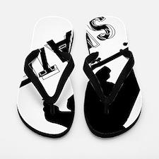 Skate_Ollie_Sillhouette Flip Flops