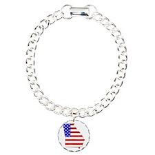 Georgia Flag Bracelet