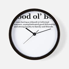 goodolboydefineonlight Wall Clock