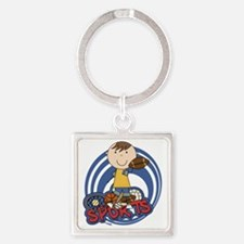 SPORTSEIGHT Square Keychain