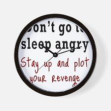 plot-revenge1 Wall Clock