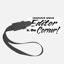 editor Luggage Tag