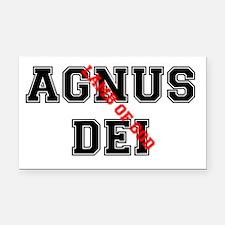 AGNUS DEI - LAMB OF GOD Rectangle Car Magnet