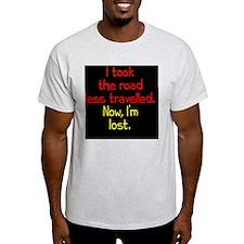 less-travelled_rnd2 T-Shirt