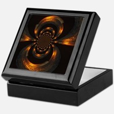 Metallic Swirl Keepsake Box