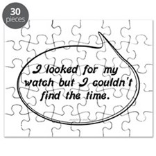 Watch Pun Humor Puzzle