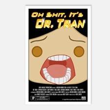 Oh Shit Postcards (Pack of 8)